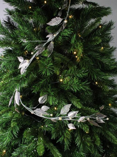 Iron Garland Silver Tree Decoration