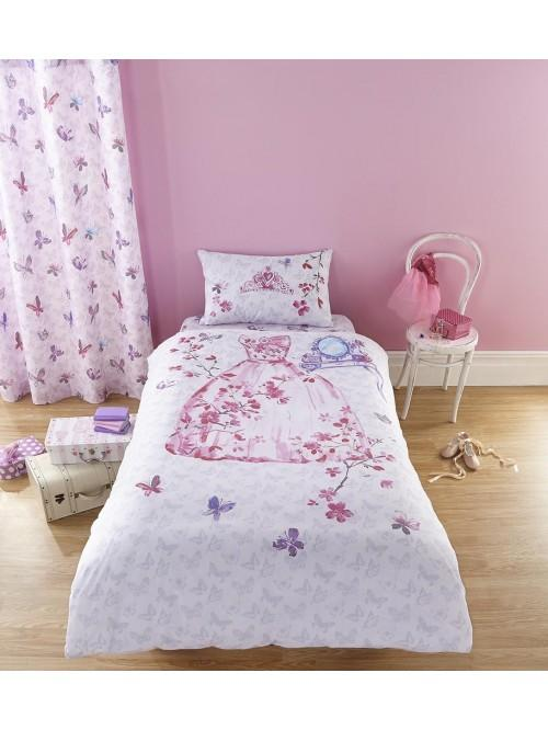 Catherine Lansfield Glamour Princess Bedding Collection Multi