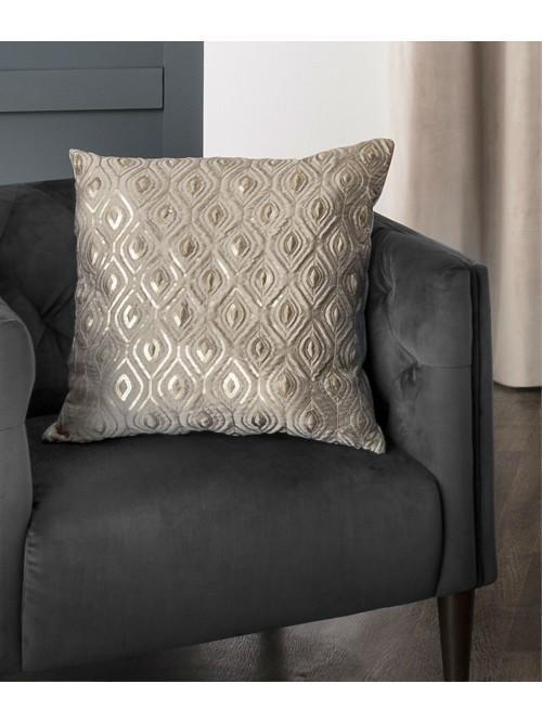 Glimmer Sequin Curtain Cushion Gold