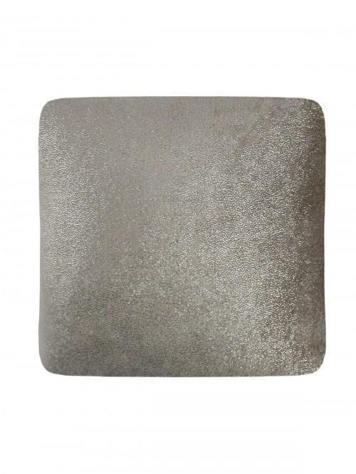 Glitter Soft Touch Cushion Natural