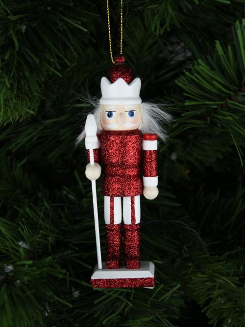 Red Traditional Hanging Nutcracker