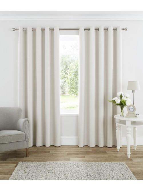 Harmony Blackout Eyelet Curtains Cream Blackout2.png · Ponden Home
