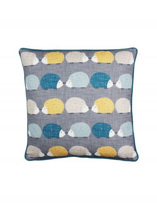 Hedgehog Cushion Teal