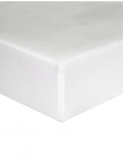 Hotel Gold Collection 300 Thread Count Fitted Sheet White