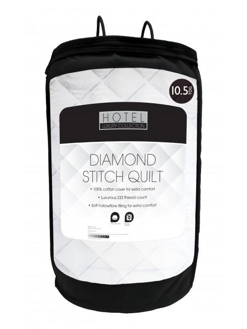 Hotel Collection Diamond Stitch 10.5 Tog Duvet