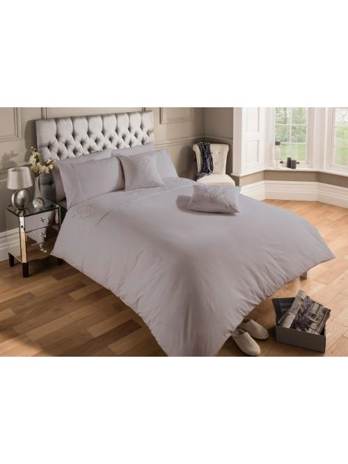 Hotel Damask Bedding Collection Grey
