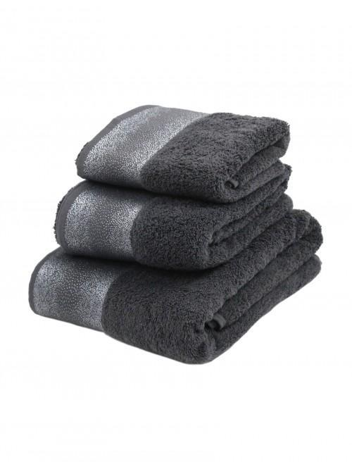 Hotel Luxe Sparkle Towel Range Grey