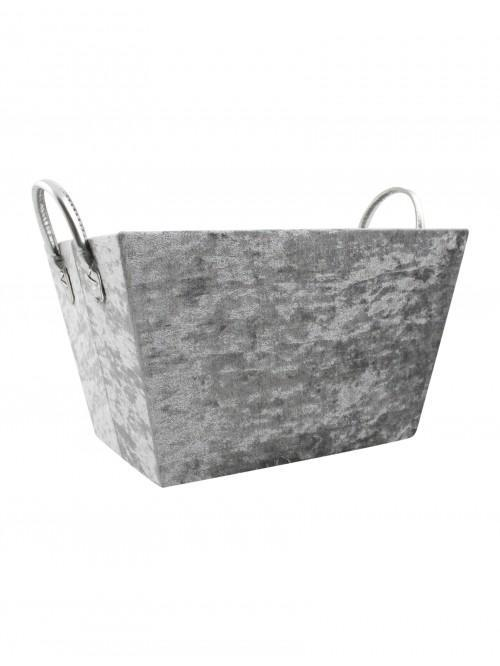 Hotel Velvet Storage Tray Grey