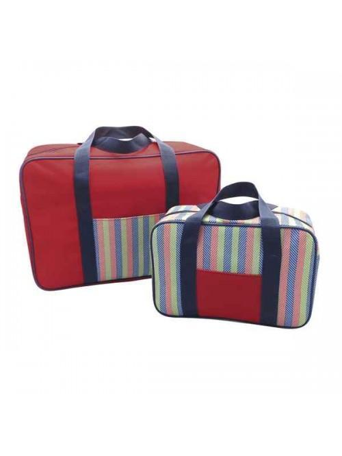 Cooler Bag 2 Pack Red