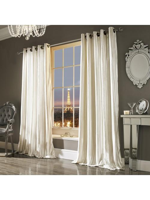 Kylie Minogue Iliana Eyelet Curtains Oyster