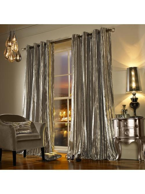 Kylie Minogue Iliana Eyelet Curtains Praline