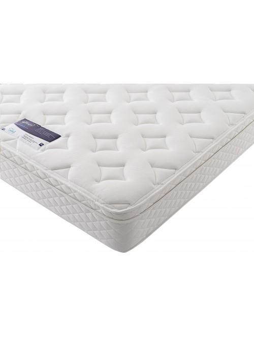 Silentnight Miracoil Memory Cushion Top Vermont Mattress