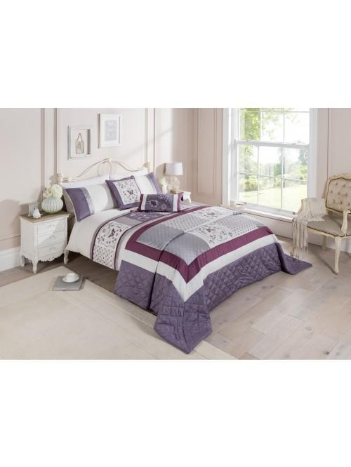 Jacobean Border Bedding Collection Heather