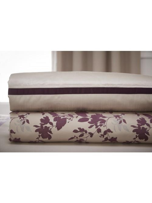 Jeff Banks Raven Embellished Bedspread Plum