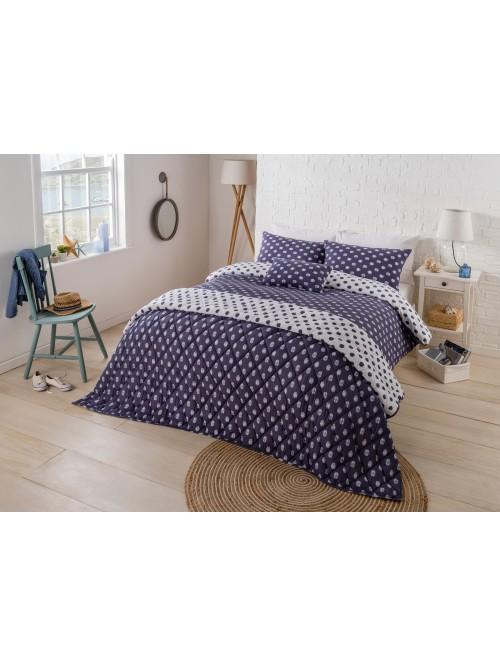 Jersey Spot Bedding Collection Blue