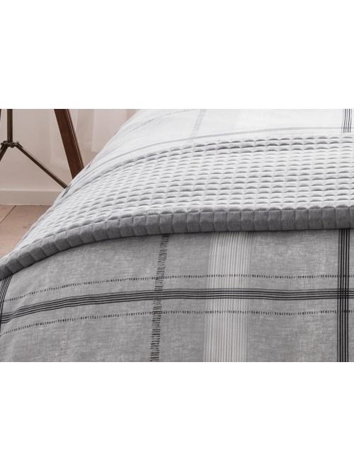 Jersey Bedspread Grey