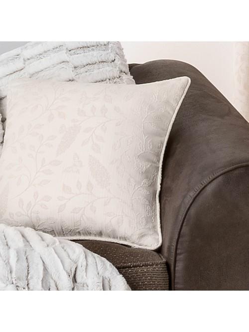 Kelso Jacquard Curtain Cushion Cream
