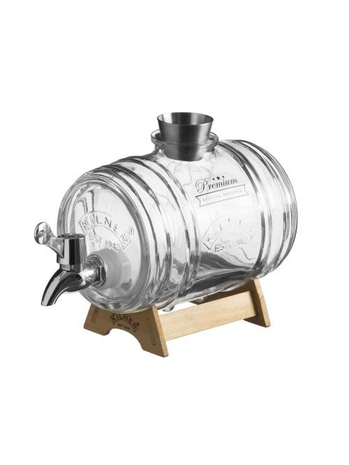 Kilner Barrel Drinks Dispenser 1 Litre