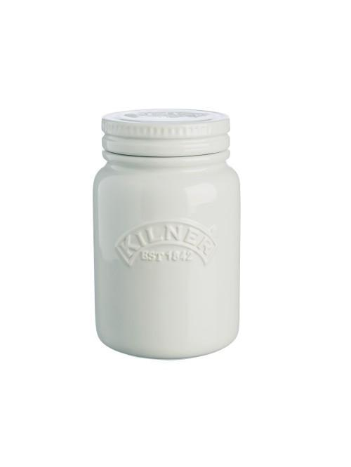 Kilner Ceramic Storage Jar Moonlight Grey 600ml
