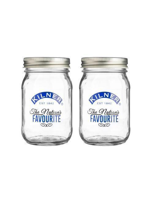 Kilner Nation's Favourite Preserving Jars 400ml 2 Pack