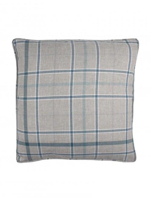 Lewis Check Cushion Teal