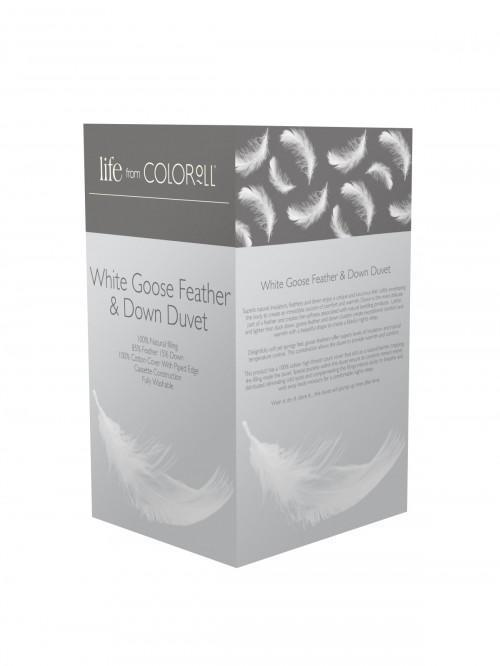 Goose Feather & Down 13.5 Tog Duvet