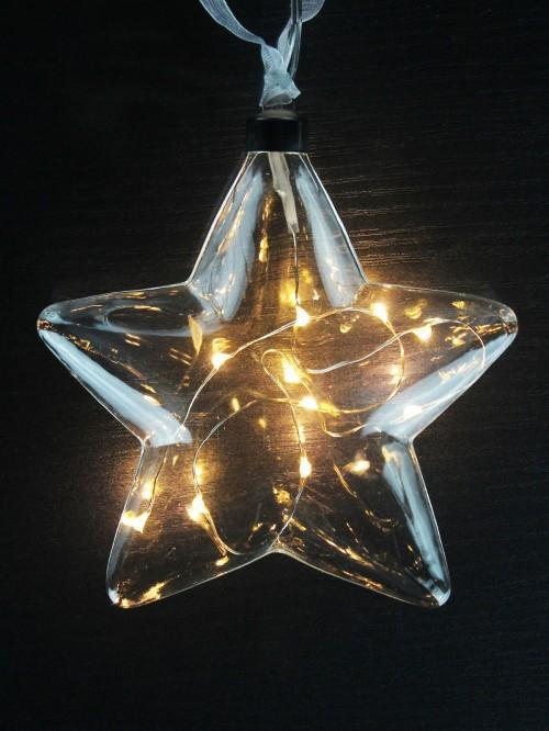 Pk Of 2 Light Up Stars
