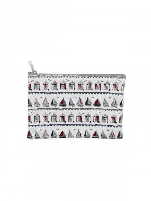 Linear Boathouse Cosmetic Bag