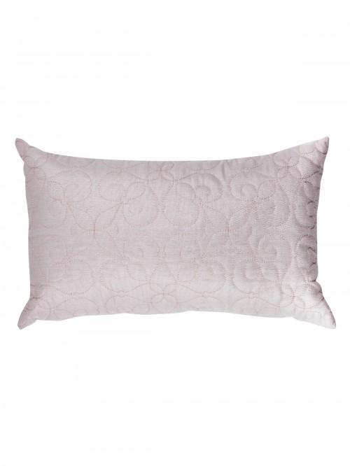 Lurex Quilted Cushion Pink