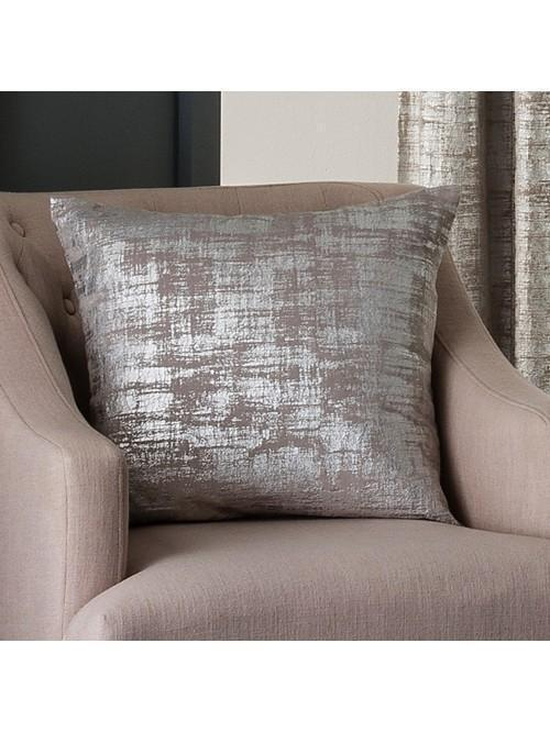 Luxor Large Feather Filled Cushion Silver