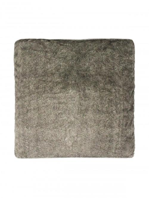 Luxury Faux Fur Cushion Grey