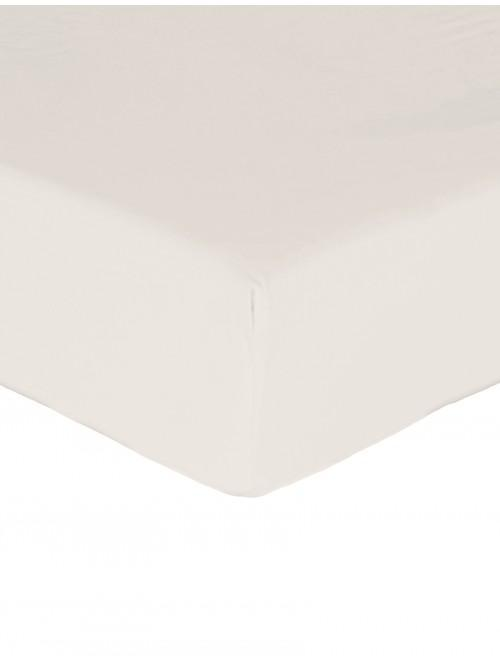 Luxury Percale Flat Sheet Ecru