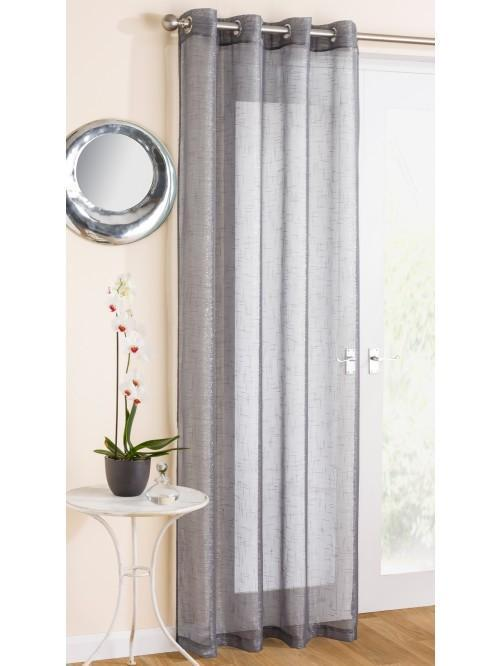 Marrakesh Voile Panel Grey