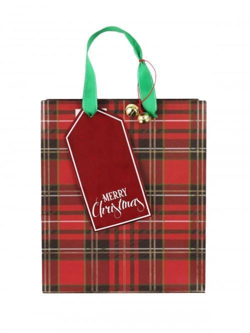 Medium Tartan Bag