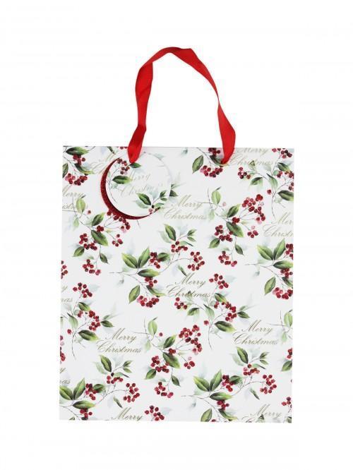 Medium Holly Gift Bag