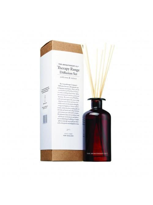 250ml Diffusion Set Wild Rose & Vetiver