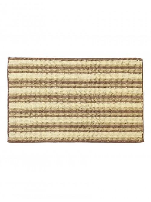Chenille Stripe Bathmat Natural