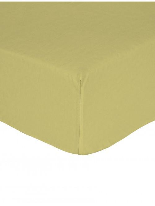 Non Iron Fitted Sheet  Green