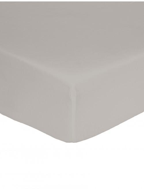 Non Iron Fitted Sheet Grey