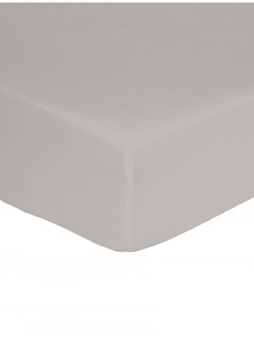 Non Iron Deep Fitted Sheet Grey