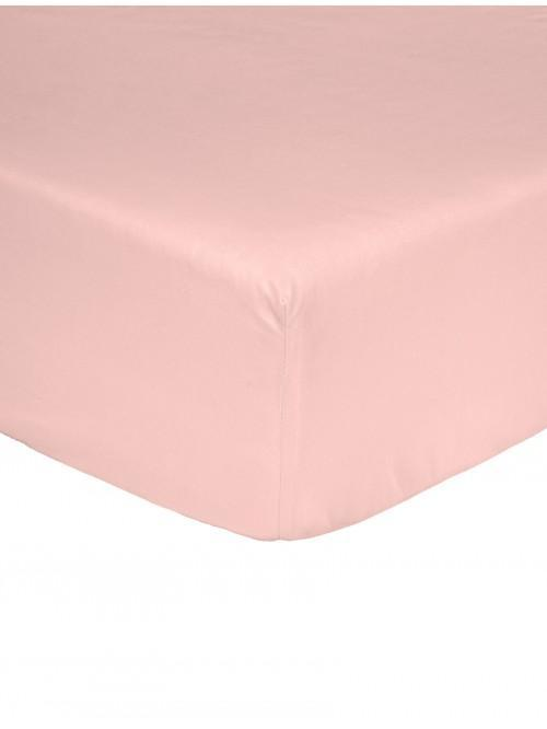 Non Iron  Fitted Sheet Light Pink