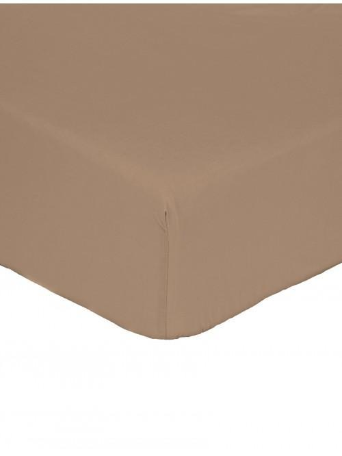 Non Iron Box Pleat Valance Sheet  Espresso