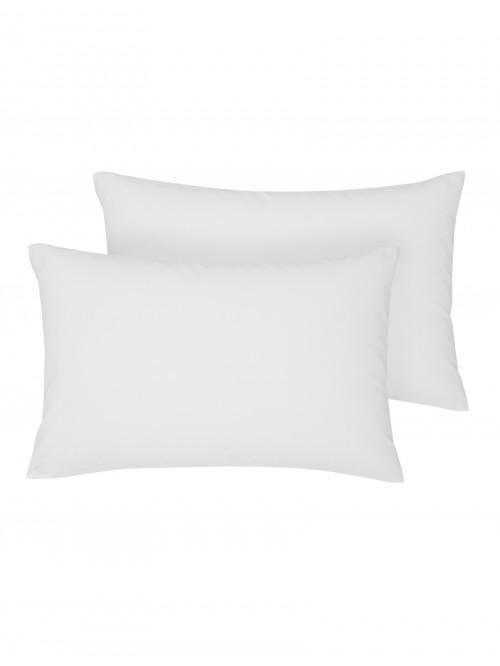 Non Iron Housewife Pillowcase Pair White