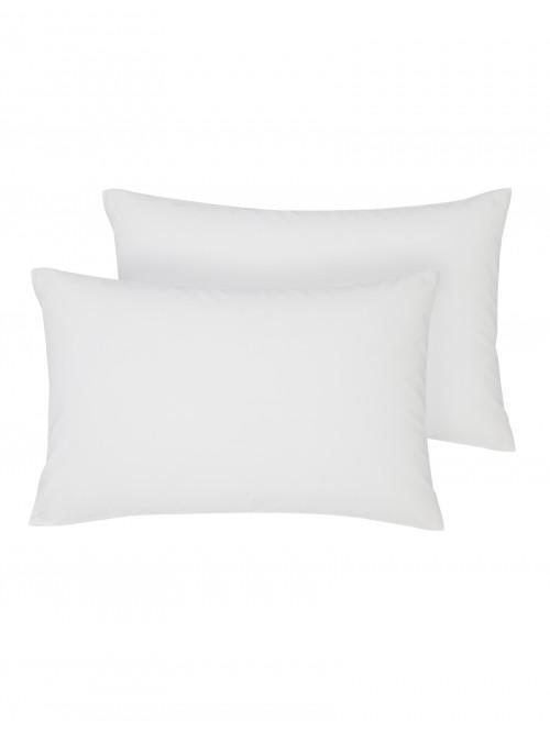 Non Iron Housewife Pillowcase Pair White