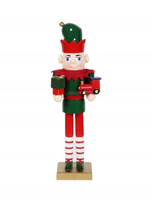 Elf Nutcracker Red