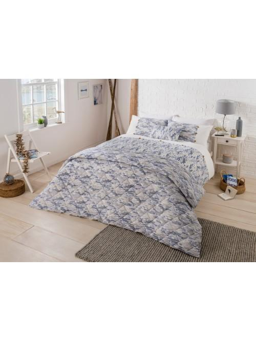 Oceana Printed Cotton Rich Bedding Collection Blue