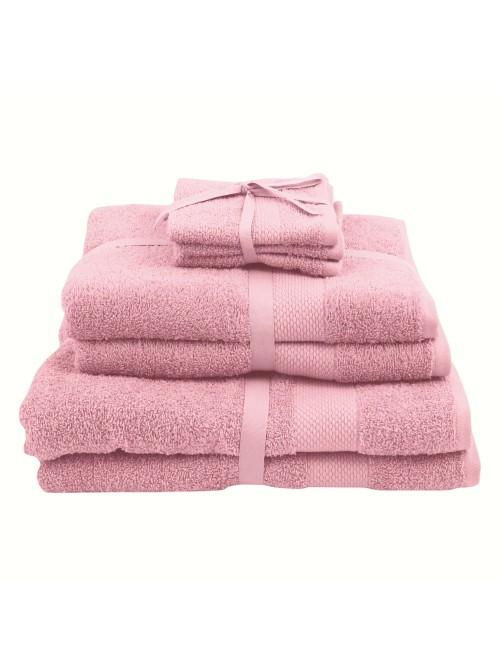 100% Cotton Egyptian Towels Pink
