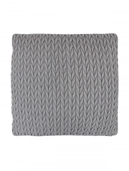 Pleated Cushion Grey