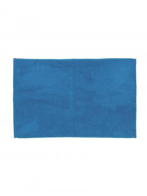 Life From Coloroll Luxurious Plush Bathmat Cornflower