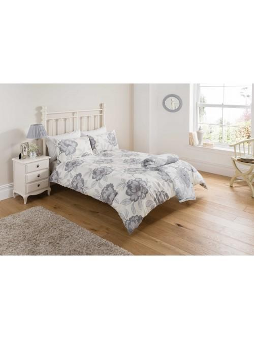 Grey Poppy Bedding Collection Grey